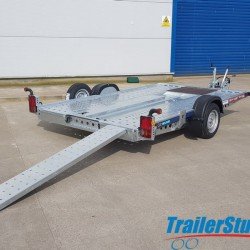 Brian James C2 Blue 3.20m Single Axle
