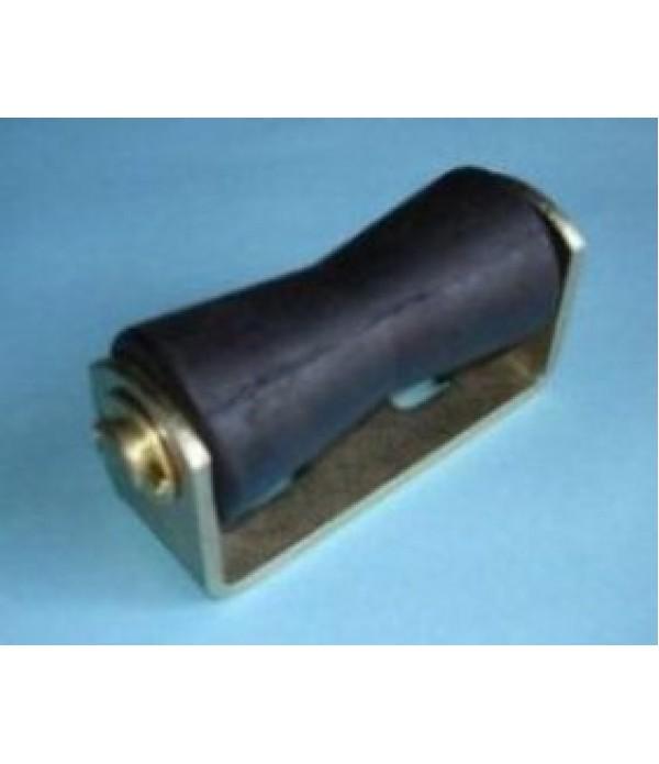 "5"" V roller assembly 125x19mm."