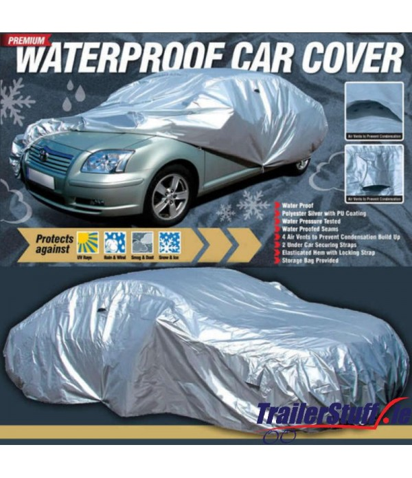 WATER PROOF CAR COVER & VENTS LARGE