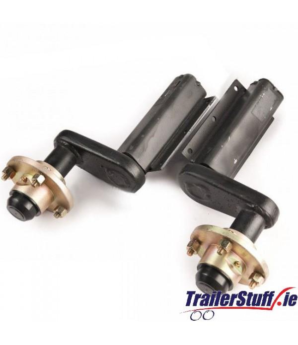 Knott-Avonride 550 kg. suspension, extended stubs ...