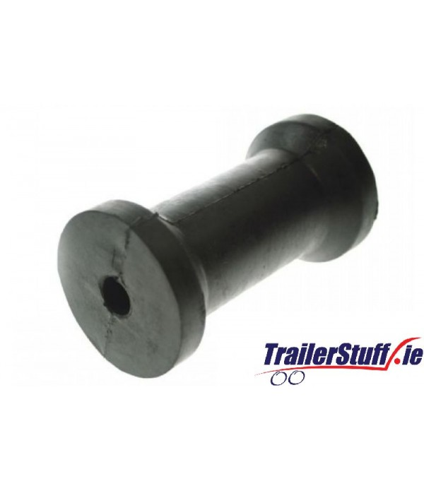 "5"" keel roller with 16mm. dia. bore"