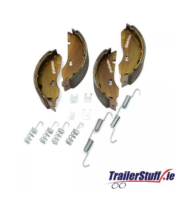 Genuine AL-KO 1637 brake shoe axle kit Euro drum