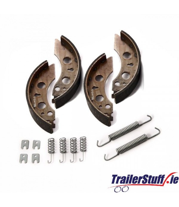 Genuine AL-KO 2035 brake shoe axle kit