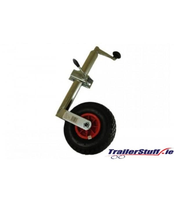 48mm. pneumatic  jockey wheel