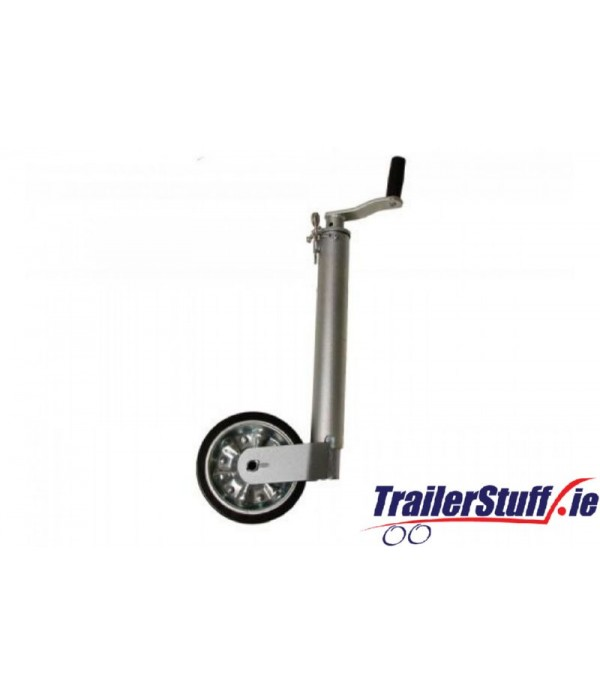 60MM HEAVY DUTY SMOOTH JOCKEY WHEEL NO CLAMP