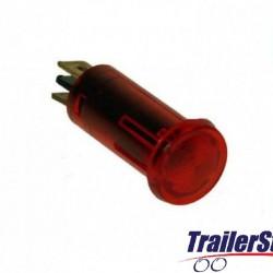 12V PANEL LAMP RED