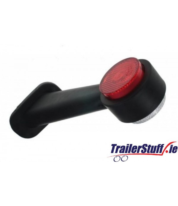 10-30V LED RED/WHITE 45 OUTLINE MARKER