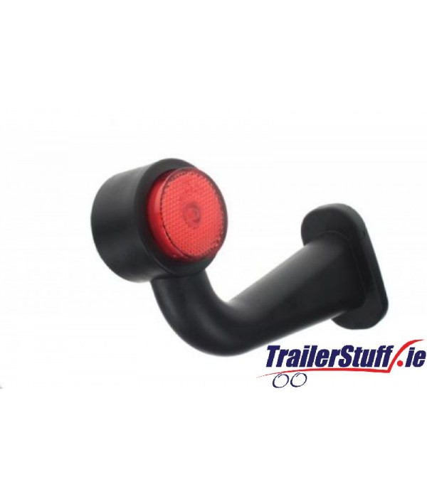 10-30V LED RED/WHITE 90 OUTLINE MARKER