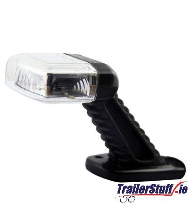 45° LED Rubber Stalk Lamp   Left