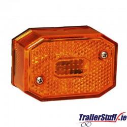 Aspock Flexipoint amber side marker light
