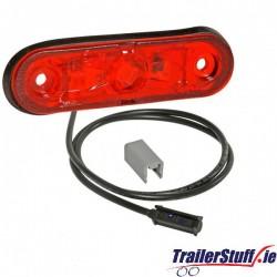 ASPOCK Posipoint II 12/24V Red LED Marker Lamp