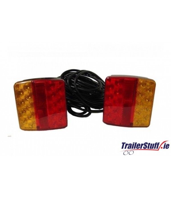 12V MAGNETIC LED LIGHTING POD WITH 10M CABLE