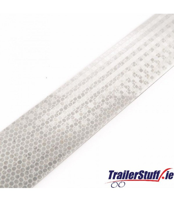 3M White reflective tape, per meter