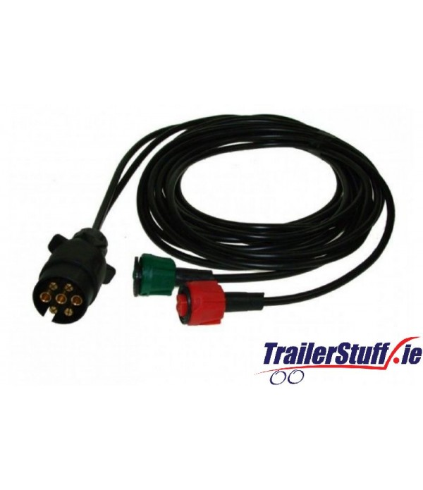 RADEX 6M HARNESS 7 PIN PLUG AND 2 X 5 PIN CONNECTO...
