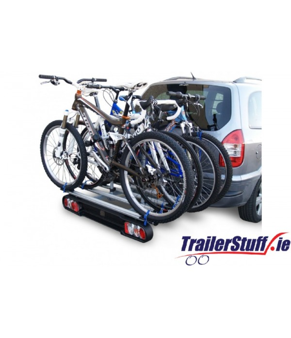 BC3014 MWAY FOXHOUND TOWBALL MOUNTED 4 CYCLE CARRIER