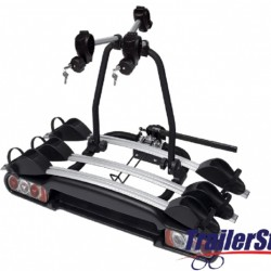 BC3023 M-WAY NIGHTHAWK PLUS TOWBALL MOUNTED 3 CYCLE CARRIER