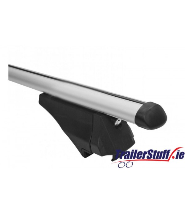 RB1045 MWAY EAGLE UNIVERSAL ALUMINIUM ROOF BARS 1.35M FOR RAISED ROOF RAILS