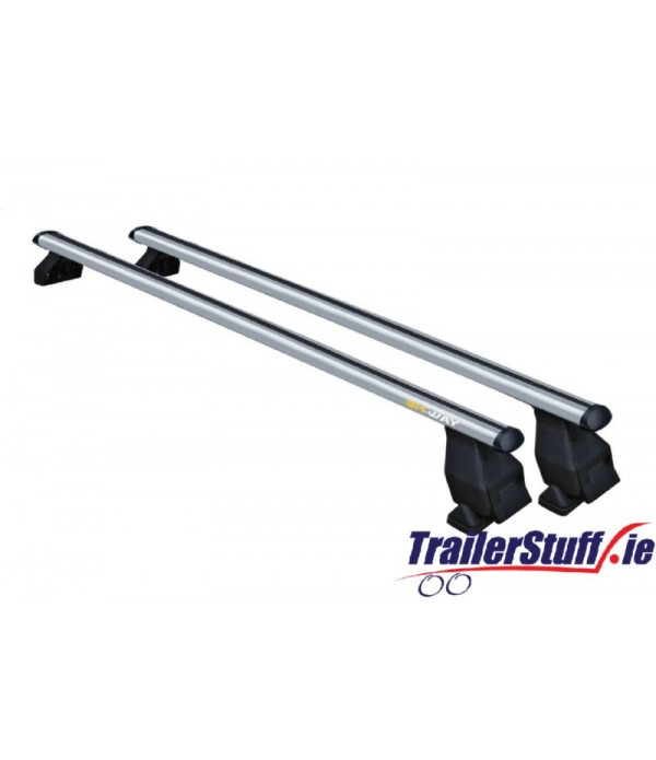 RB2020 MWAY SPACE BAR A - 2 x 1.12M ALUMINIUM BARS & FOOT KIT