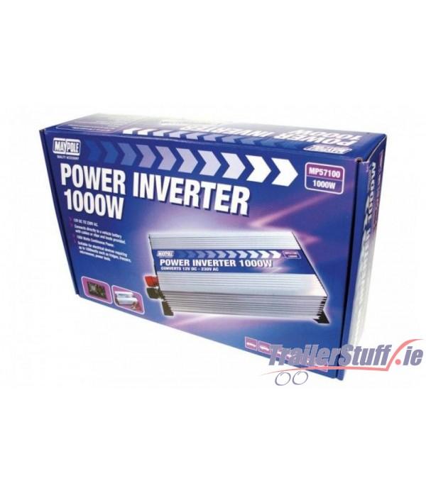 1000W Inverter 12V - 230V Power