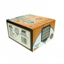 LED WORKLAMP 10-30V 48W  - 16x3W 3800lm FLOOD IP67
