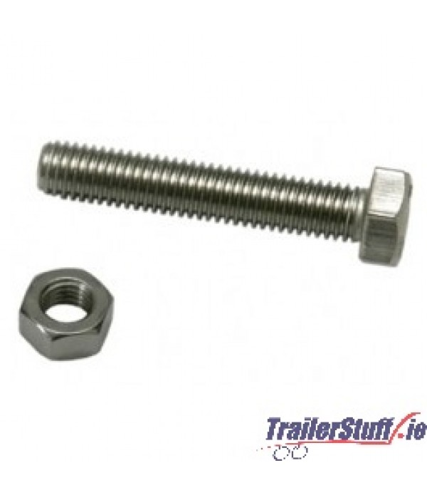 SOCKET MOUNTING NUT & BOLT M5 x 35