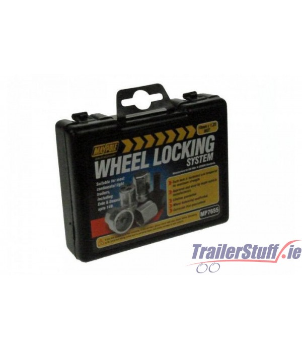 10mm. Wheel Nut Locking Set