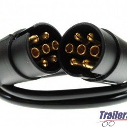 2.0m. connection lead with 2x 7-pin plugs