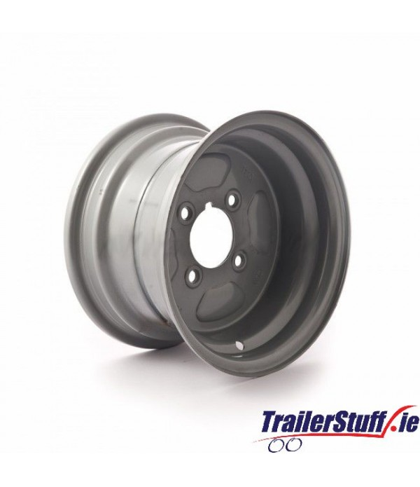 "10 inch rim, 6J, 4 on 4"" PCD to fit 20.5x8-10..."