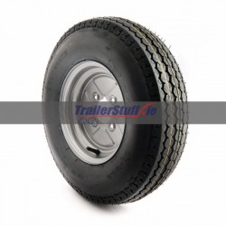 5.00-10, 6 ply, 100mm. PCD wheel assembly