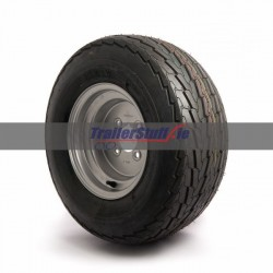 """20.5x8-10, 4 ply, 4 on 4"""" PCD wheel assembly"""