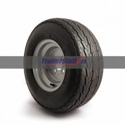 20.5x8-10, 4 ply with 4 on 100mm. wheel assembley