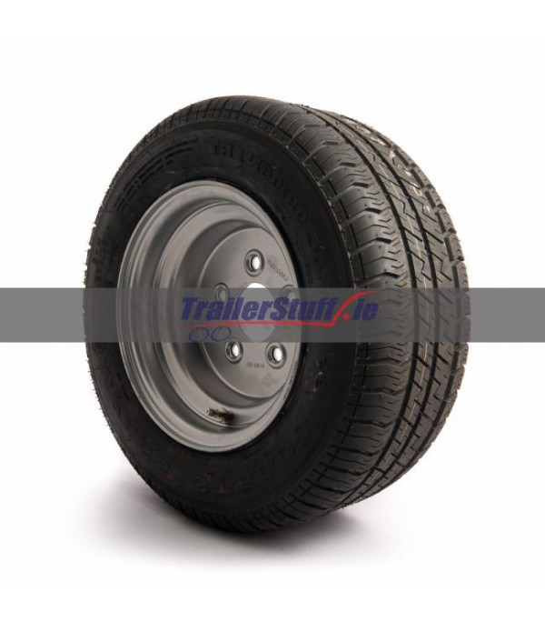 195/55 R10 C, 5 on 112mm. PCD wheel assembly