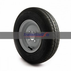 145/80 R10, 4ply, with Mini rim, wheel and tyre assembly
