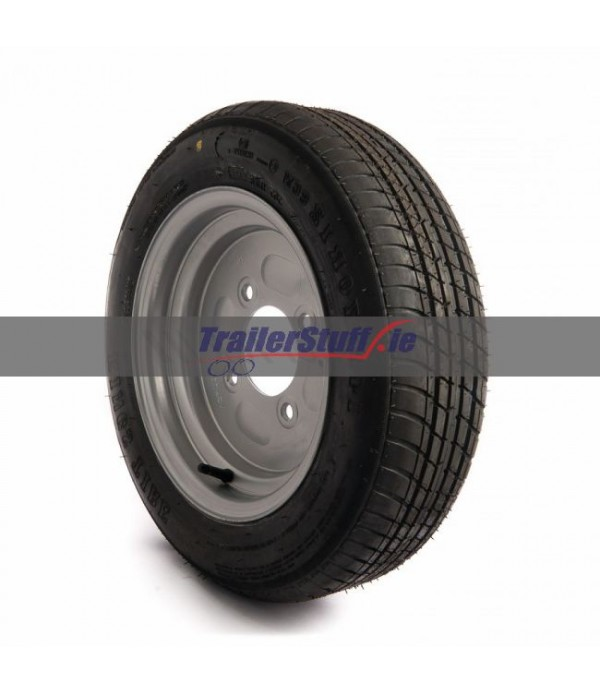 "140/70 R12, 8 ply, 4 on 5.5"" PCD wheel assemb..."
