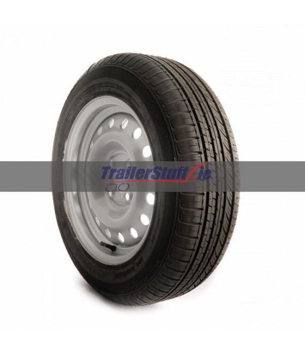 175/65 R14, 4 on 100mm. PCD wheel assembly