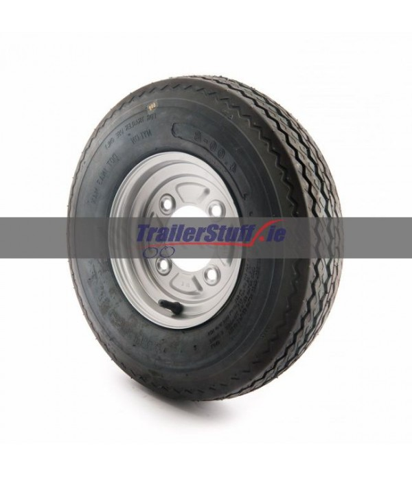 "4.80/4.00-8"", 4 on 115mm. PCD wheel assembly"