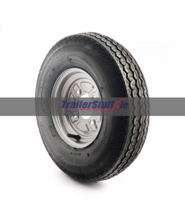 """4.80/4.00-8"""", 4 ply, 4 on 4"""" PCD wheel a..."""