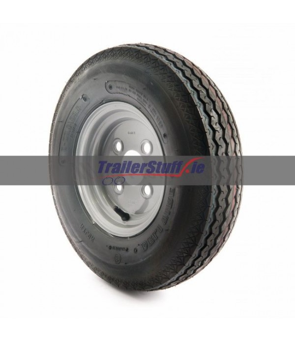 "4.80/4.00-8"", 4 on 100mm. PCD wheel assembly"