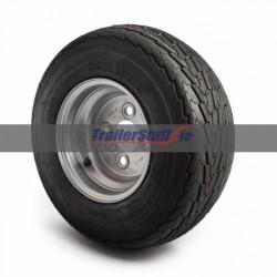 16.5x6.5-8, 4 on 100mm. PCD, 6 ply wheel
