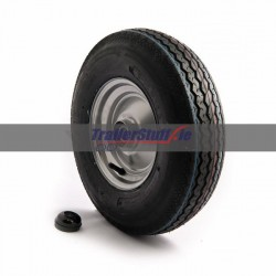 4.80/4.00x8, 4 ply, wheel assembly with 25mm Bearing