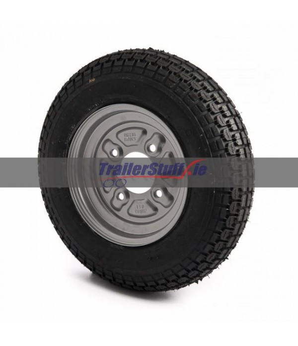 "3.50-8"", 4 on 4"" PCD wheel assembly"
