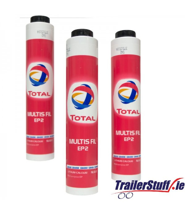 Total Multi-Purpose FIL EP2 Grease Cartridge - Scr...