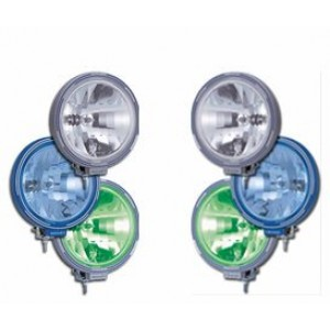 228mm Round Spot Lamps