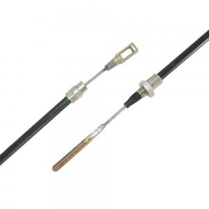 Non-detachable brake cables