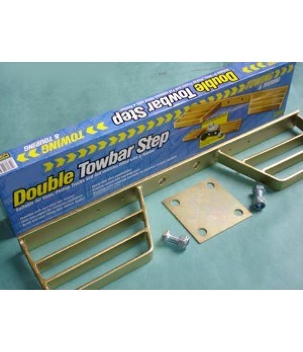 Tow step, double, plain