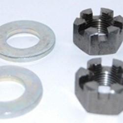Knott- Avonride Castleated axle nut 5/8 UNF