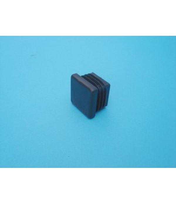 PVC end cap 25x25mm.
