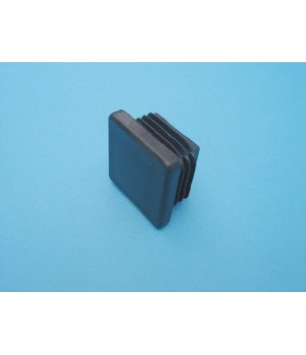 PVC end cap 30x30mm.