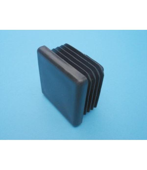 PVC end cap 40x40mm.