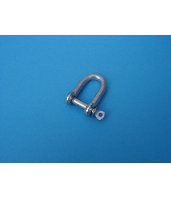 D-Shackle, 6mm. dia.